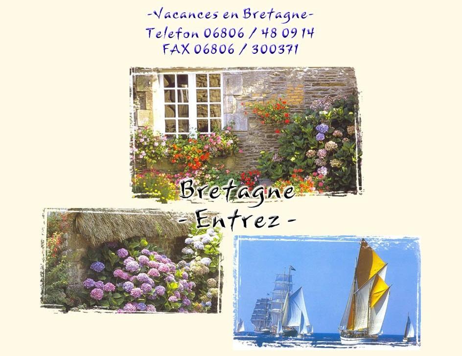 Ferienhaus Bretagne - Ferienhäuser Bretagne