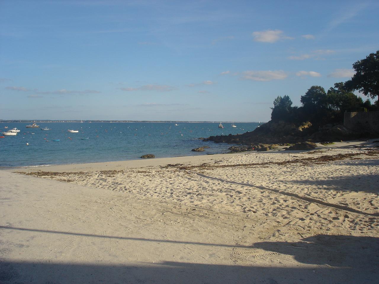 Ferienhaus Bretagne Strand in der Bretagne,Beg Meil, ideal zur Entspannung und Erholung